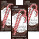3 Pack - Candy Cane No Sugar Added Hot Chocolate