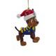 Chase - Santa Hat Ornament