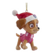 Skye - Santa Hat Ornament