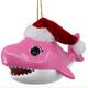 Pink - Baby Shark Santa Hat