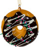 Chocolate A Dozen Doughnuts Ornaments