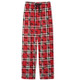 Holiday Moose on Plaid Pajama Pants