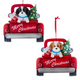 Shih-Tzu In Back Of Truck Ornaments For Personalization