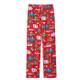 Retro Christmas Womens Sleep Pants