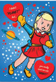 Archie McPhee 12531  Love Notes Postcard Book