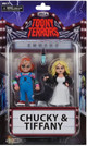 """39743 Toony Terrors 6"""" Action Figure Chucky & Tiffany 2-Pack- package"""