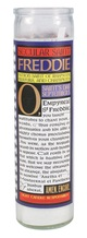 UG-5418 Freddie Mercury Secular Saint Candle- back
