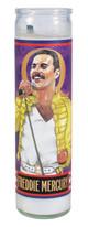 UG-5418 Freddie Mercury Secular Saint Candle