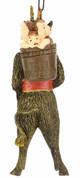 TB-5925  scary Krampus Figure Christmas Ornament