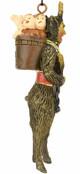 Krampus Figure Christmas Ornament TB-5925  scary