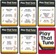 Play that Tune Kazoo Game PP4612TX cards