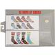 Back of Box - Nintendo 12 Days of Socks