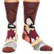 Looney Tunes Tasmanian Devil Face Crew Socks