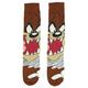 Front - Tasmanian Devil Face Socks