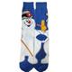 Blue - Frosty the Snowman Crew Socks