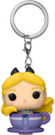Disney 65th Anniversary Alice in Teacup Keychain