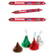 Hershey's Kisses Holiday Sleeves - Set of 3