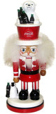 "15"" Coca-Cola Nutcracker Polar Bear"