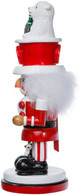 "15"" Coca-Cola Nutcracker with Polar Bear and hat"