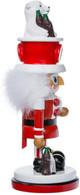 """15"""" Coca-Cola Nutcracker with Polar Bear hat"""