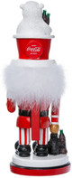 Coca-Cola Nutcracker with Polar Bear