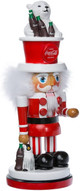 "15"" Coca-Cola Nutcracker with Polar Bear"