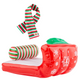 Inflatable Sled and Scarf - Elf on the Shelf