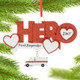 First Responder EMT Hero Personalized Ornament