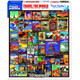 Travel the World 550pc Puzzle by White Mountain