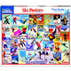 Ski Posters 1000pc Puzzle by White Mountain