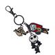 Nightmare Before Christmas Multi Character Keychain