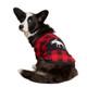 Moose on Buffalo Plaid Pajamas on Dog