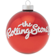 Rolling Stones Ball Ornament