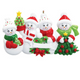 4 - Snow Family Personalized Ornament