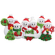 6 - Snow Family Personalized Ornament