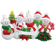 5 - Snow Family Personalized Ornament