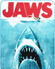 Jaws Movie Poster Throw Blanket