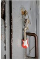 Guitar LED Keyring
