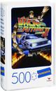 Back To The Future II Movie 500-Piece Puzzle in Retro Blockbuster VHS Case