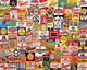Beer Labels 1000 Piece Jigsaw Puzzle