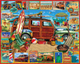 Surfin Woody Puzzle by White Mountain