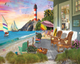 Beach Vacation Puzzle by White Mountain