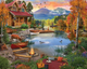Paradise Lake Puzzle by White Mountain