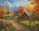 Country Blessings Puzzle by White Mountain