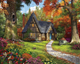 Autumn Cottage Puzzle by White Mountain