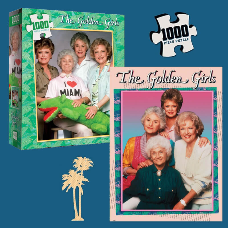 Golden Girls Licensed Pop Culture Puzzles