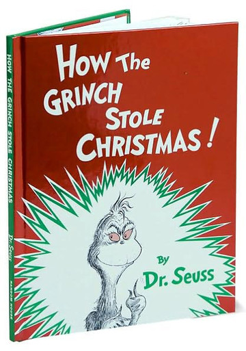 How The Grinch Stole Christmas Book Cover.How The Grinch Stole Christmas Classic Story Book With Foil Cover