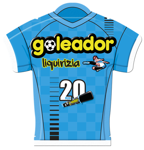 Goleador Licorice  Soccer Jersey (5.3  oz | 150 g)