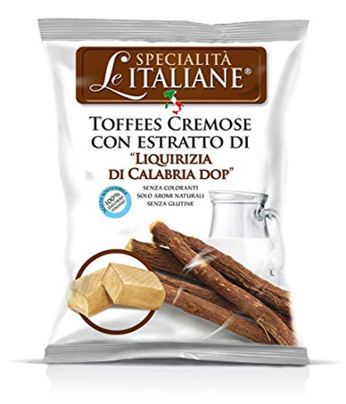 Licorice Of Calabria Pdo Hard Filled Candy (3.52  Oz | 100 g)