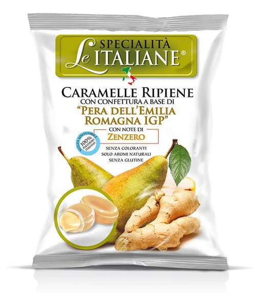 Pear From Emilia Romagna Pgi Hard Filled Candy (3.52  Oz | 100 g)